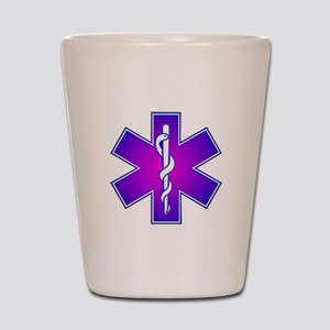 Star of Life Shot Glass
