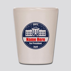 Vote for President 2020 Personalized Shot Glass