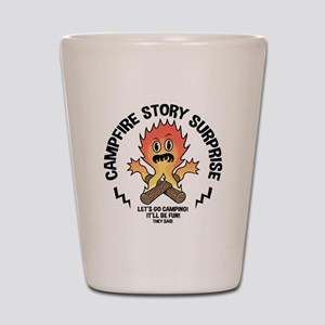 Campfire Surprise Shot Glass