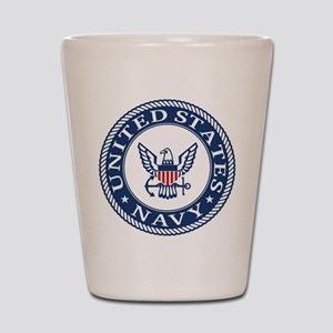 United States Navy Shot Glass