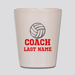 Volleyball Coach Shot Glass