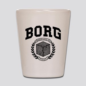 Star Trek Borg College Style Shot Glass