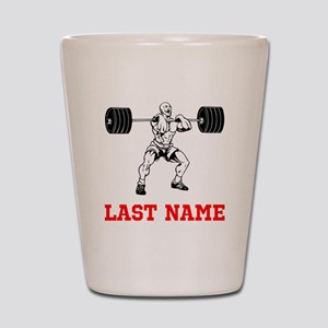 Weight Lifting Shot Glass