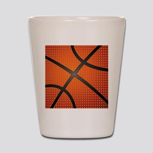 Basketball Ball Shot Glass
