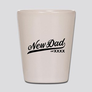 New Dad Personalizable Shot Glass