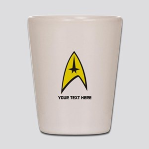 Star Trek Symbol Personalized Shot Glass