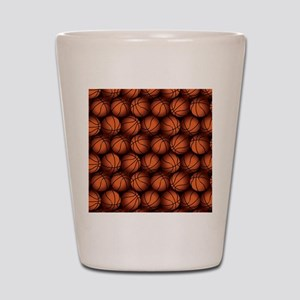 Basketball Balls Shot Glass