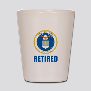 U.S. Air Force Retired Shot Glass