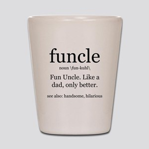 Fun Uncle definition Shot Glass