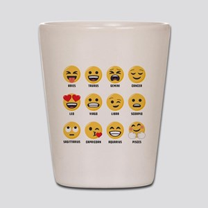 Emoji Horoscopes Shot Glass