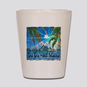 Bora Bora French Polynesia Shot Glass