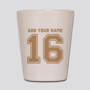 Custom 16th Birthday Shot Glass
