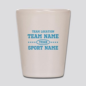 Sports Team Personalized Shot Glass