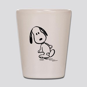 Peanuts Snoopy Shot Glass