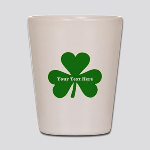 Ireland Green Clover Shot Glass