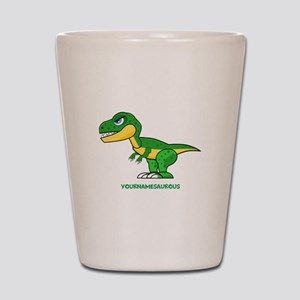 T-rex personalized Shot Glass