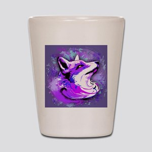 Purple Fox Spirit Shot Glass