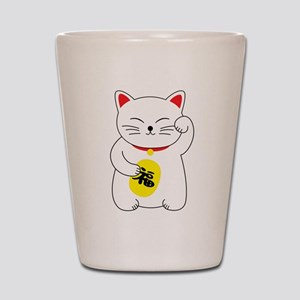 Maneki Neko Lucky Cat Shot Glass