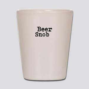 Beer Snob Shot Glass