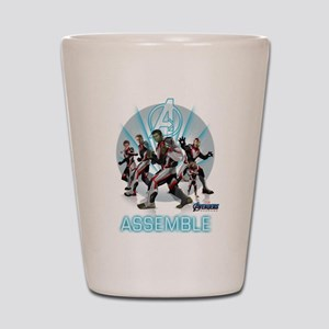 Assemble Avengers Shot Glass