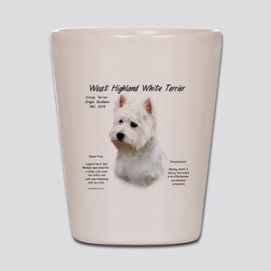 West Highland White Terrier Shot Glass