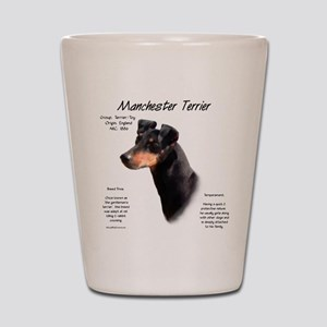 Manchester Terrier Shot Glass