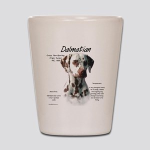 Dalmatian (liver spots) Shot Glass