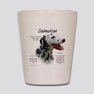 Dalmatian (black spots) Shot Glass