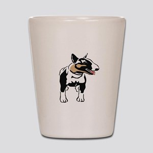 Bull Terrier Shot Glass