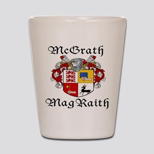 McGrath In Irish & English Shot Glass
