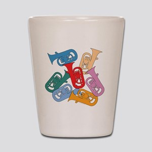 Colorful Euphoniums - Shot Glass