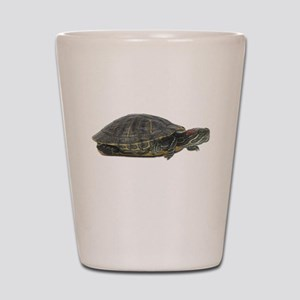 Red Ear Slider Photo Shot Glass