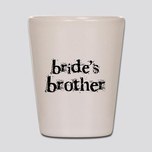 Bride's Brother Shot Glass