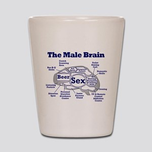 The Thinking Man's Shot Glass