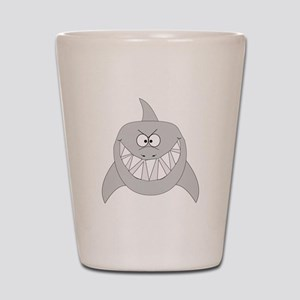 Cartoon Shark Shot Glass