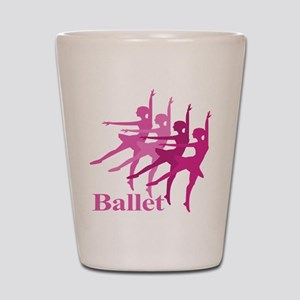 Ballerinas Dance Ballet Shot Glass