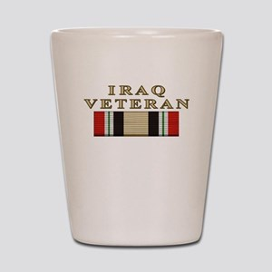 Iraq Vet Shot Glass