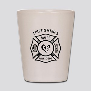 Firefighters Wife Shot Glass