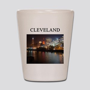 cleveland gifts t-shirts pres Shot Glass