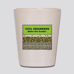Civil Engineers Graded Shot Glass