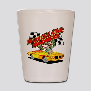 Muscle Car Madness Shot Glass