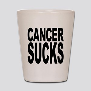 Cancer Sucks Shot Glass