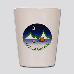 Go Camping Shot Glass