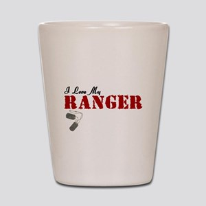 I Love My Ranger Shot Glass