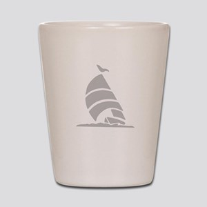 Sailboat Silhouette Shot Glass