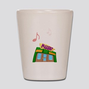 Music Store Shot Glass