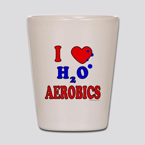 WATER AEROBICS Shot Glass