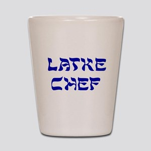Latke Chef Shot Glass