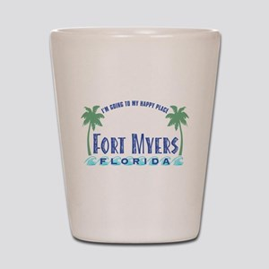 Ft. Myers Happy Place - Shot Glass