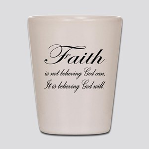 Faith Shot Glass